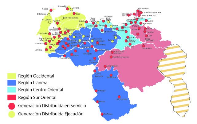 Ahorro Centrales Eléctricas de Venezuela